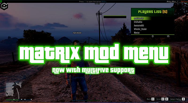 GTA 5 Online Mod Menu pc