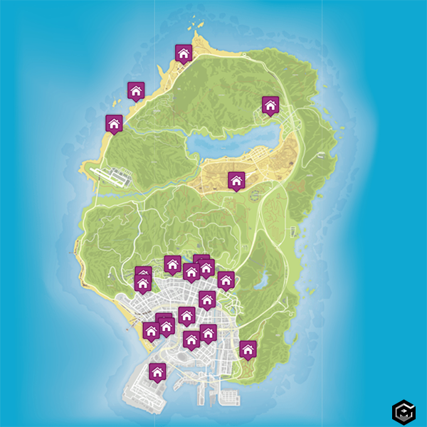 GTA 5 property of sale