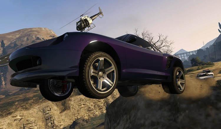 GTA 5 no cops cheat