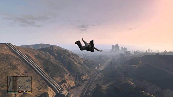 Skyfall cheat GTA 5