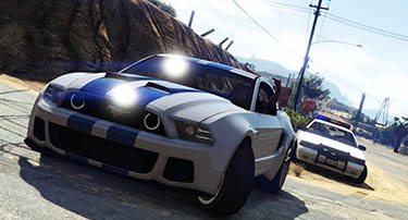Lower wanted level GTA 5 Xbox One