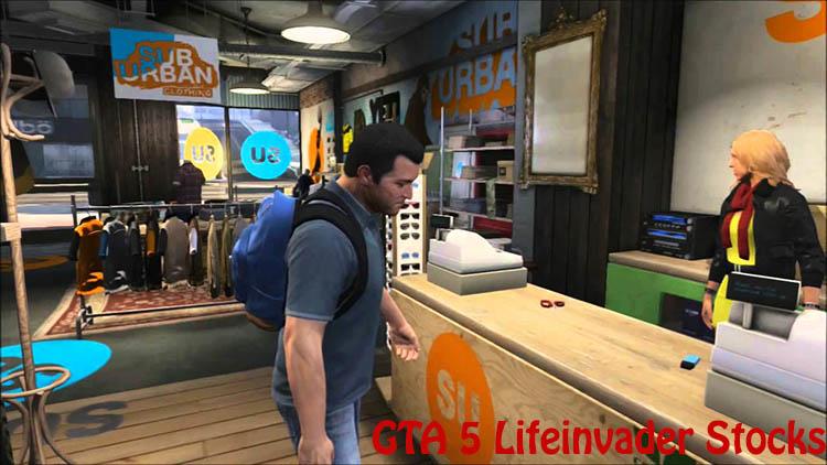 GTA 5 stock market lifeinvader