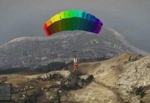 parachute gta 5 cheat