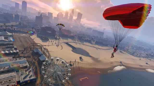 GTA V parachute cheat