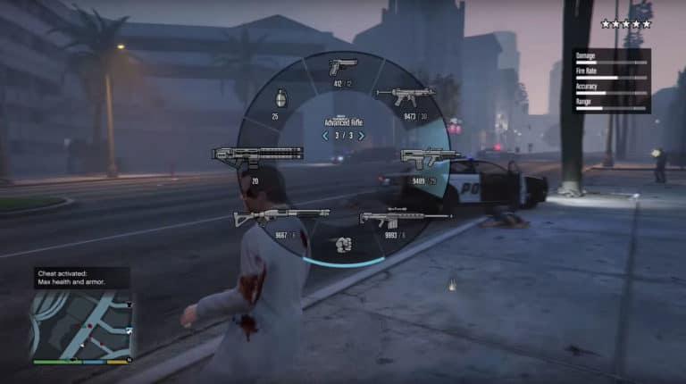 GTA 5 invincibility cheat code