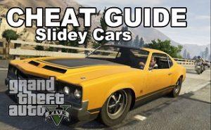 GTA 5 slidey cars
