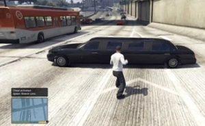 Limousines in GTA V