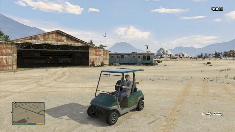 GTA 5 golf car