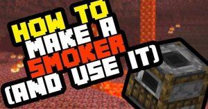 smoker recipe minecraft