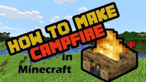 Campfire recipe minecraft