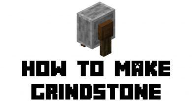 minecraft grindstone recipe