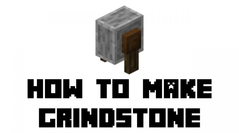 minecraft grindstone recipe